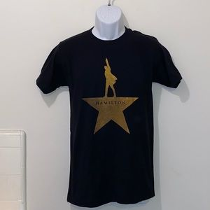 ⭐️Hamilton the Musical Gold Star Tee⭐️